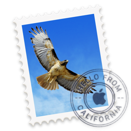 Apple Mail app icon.
